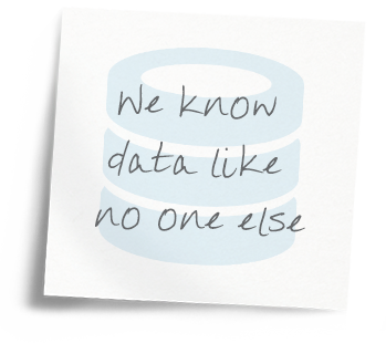 We know data like no one else