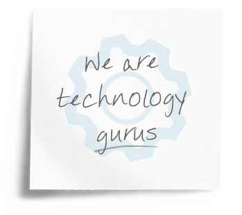 We are technology gurus